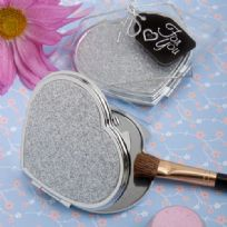 Classy Heart Mirror Compact